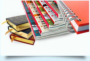 Tipos de encuadernación para libros